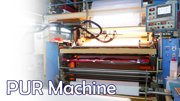 PUR machine